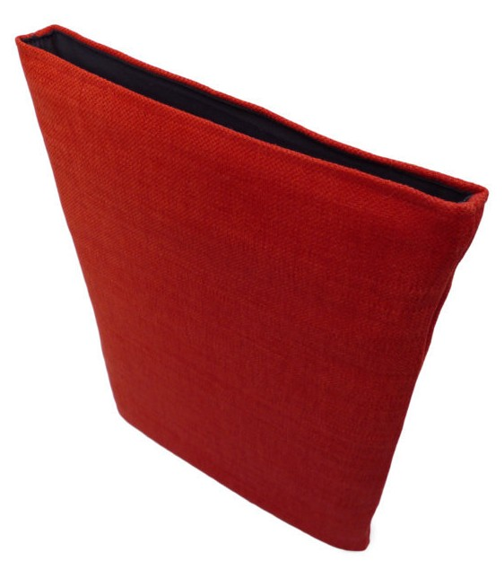 Wrappers MacBook 12 inch cover Linen/Red £22.00 plus £3.50 p&p