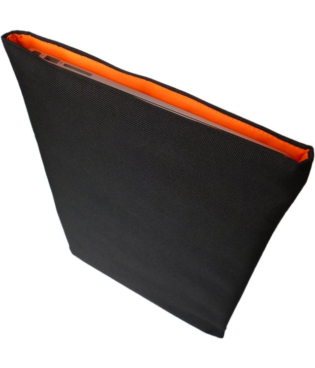 Wrappers MacBook 12 inch cover Cordura/Black/Orange Lumo £19.00 plus £3.50 p&p