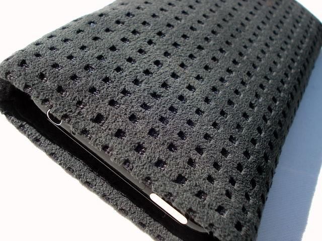 Alcantara Black sleeve for iPhone 3GS £18.00 plus £3.50 p&p