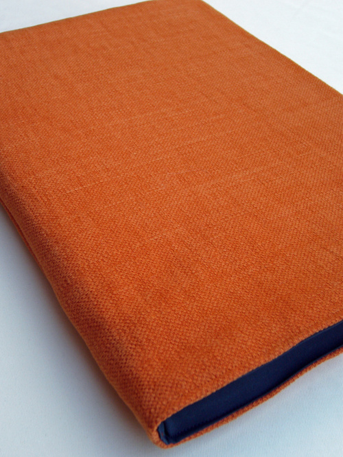 Wrappers Linen Sleeve for MacBook Air 13 & 11 inch (Tangerine)