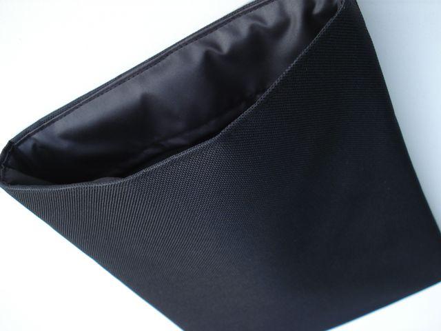 Cordura black sleeve to fit MacBook Pro 13 £18.00 (black microfibre)