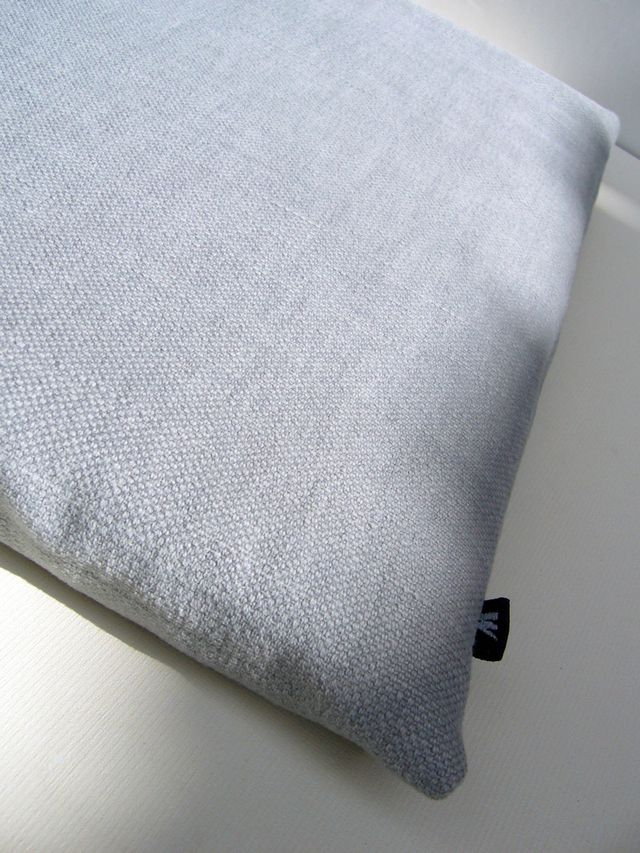 Natural linen sleeve for MacBook Pro 13 (French Blue) £20.00