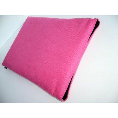 Natural linen sleeve for MacBook Pro 13 (Hot Pink) £20.00