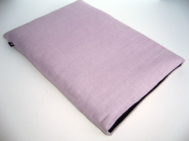 Natural linen sleeve for MacBook Pro 13 (Orchid) £20.00