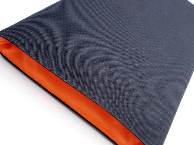 Cordura black sleeve to fit MacBook Pro 13 £18.00 (Orange lumo)