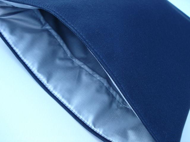 Cordura navy sleeve to fit MacBook Pro 13 £18.00 (Silver ripstop)